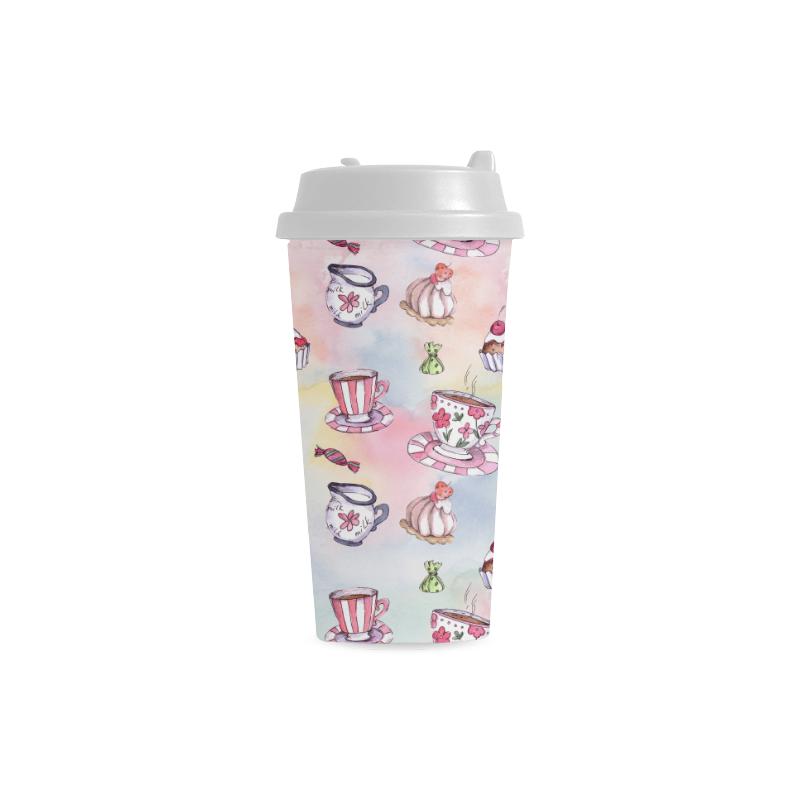 Coffee and sweeets Double Wall Plastic Mug