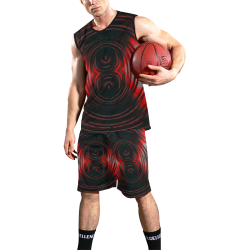 5000TRYtwo2 106 dEEP mONSTER  8 25 A sml All Over Print Basketball Uniform