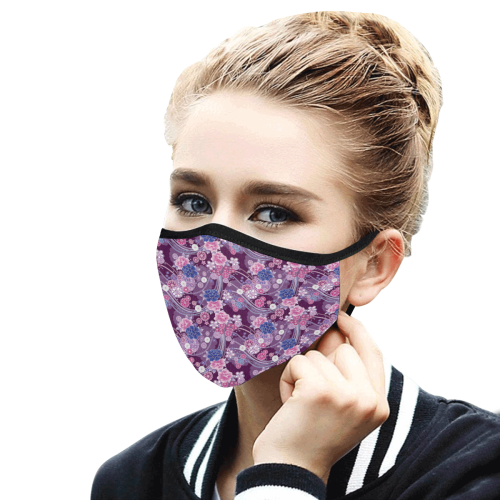 18lf Mouth Mask in One Piece (2 Filters Included) (Model M02) (Non-medical Products)
