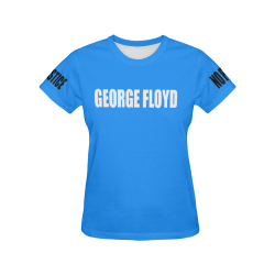 TIME20-DESIGN-GEORGE FLOYD All Over Print T-Shirt for Women (USA Size) (Model T40)