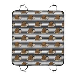 Escargot ~ French Snail Pet Car Seat 55''x58''