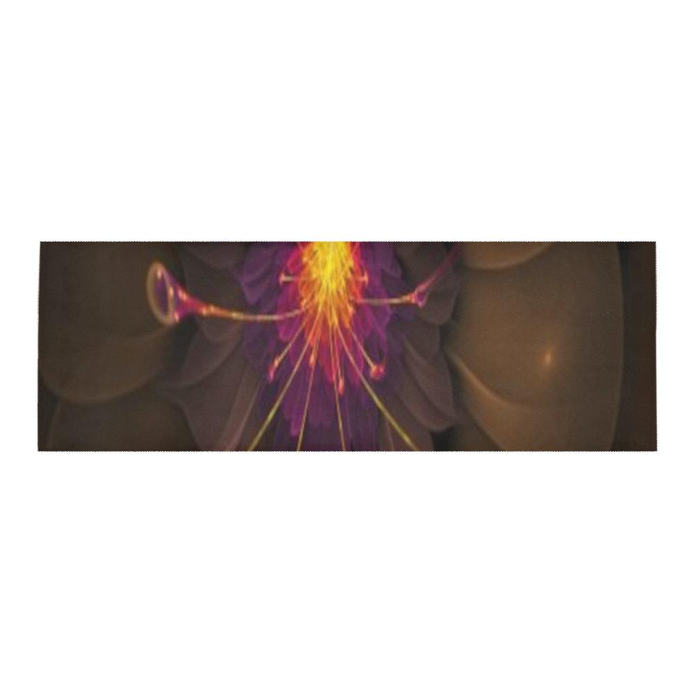 Fractal flash Area Rug 10'x3'3''