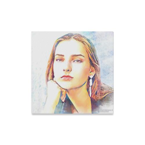 "Julia Canvas Print 16""x16"""