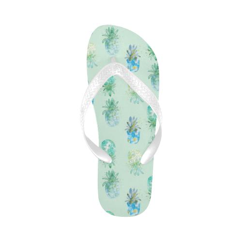 ananas Flip Flops for Men/Women (Model 040)