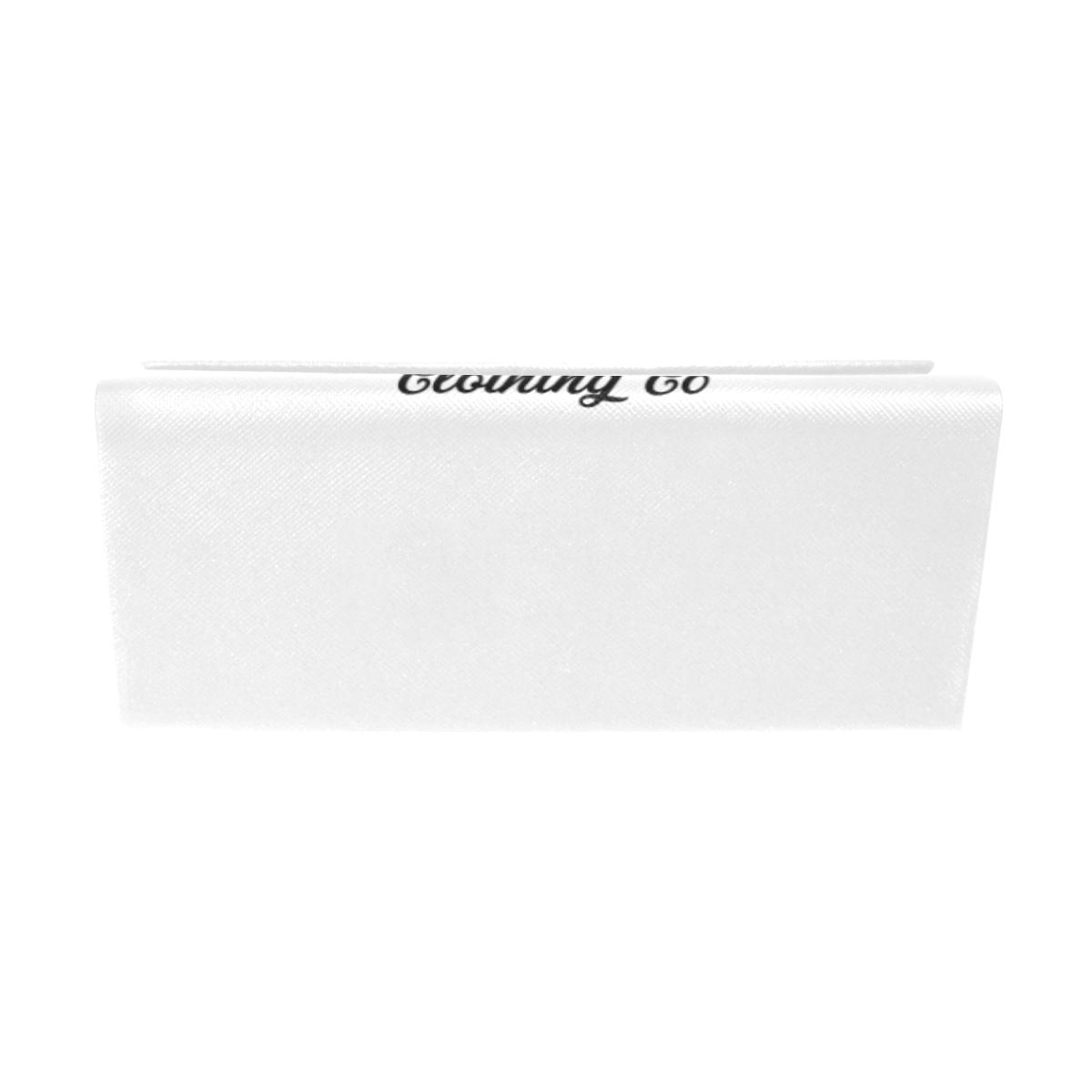 CLASSIC-WHITE GLASSES CASE Custom Foldable Glasses Case