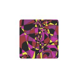 Multicolor Abstract Design S2020 Square Coaster