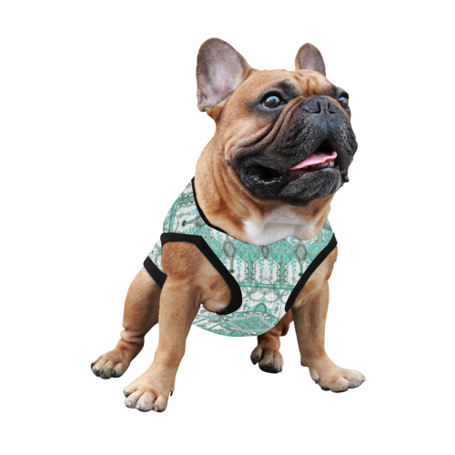 haute couture 9 All Over Print Pet Tank Top