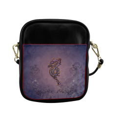 Awesome chinese dragon Sling Bag (Model 1627)