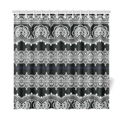 "Eastern folk Art Shower Curtain 72""x72"""