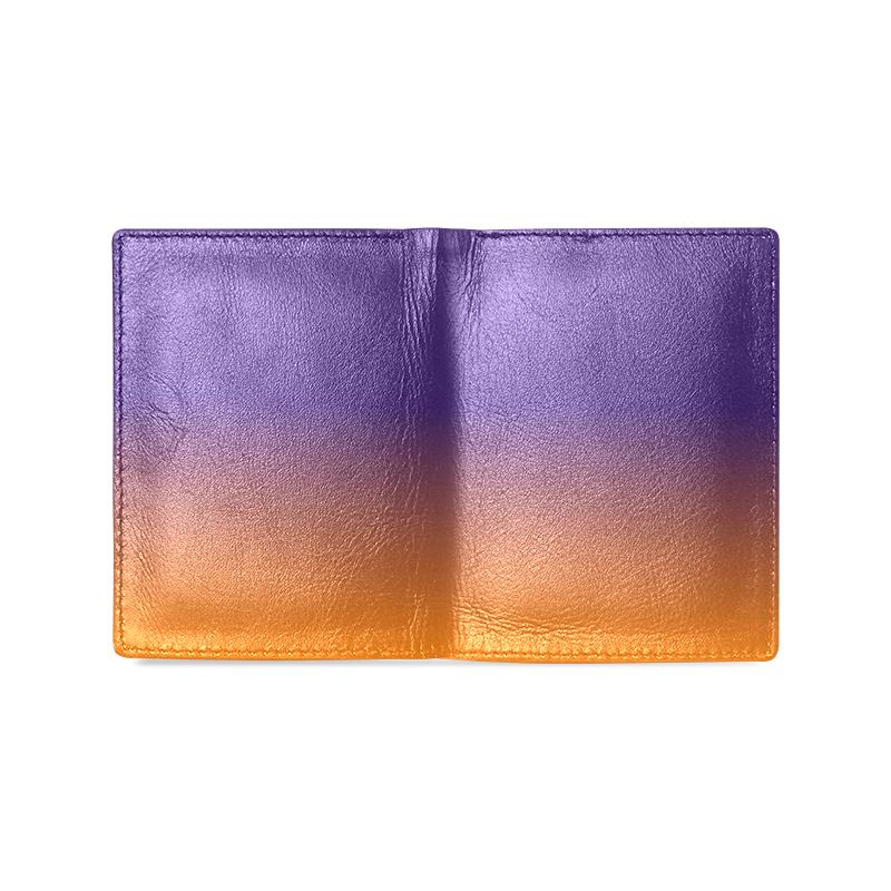 sunset Men's Leather Wallet (Model 1612)