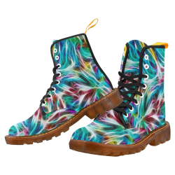 Misty Moods Blues by Jera Nour Martin Boots For Women Model 1203H