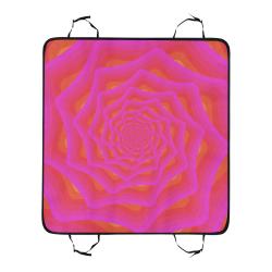 Pink spiral Pet Car Seat 55''x58''