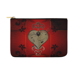 Wonderful decorative heart Carry-All Pouch 12.5''x8.5''