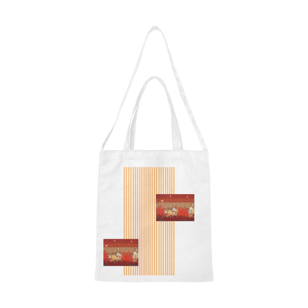 Kigrun by Vaatekaappi Canvas Tote Bag/Medium (Model 1701)