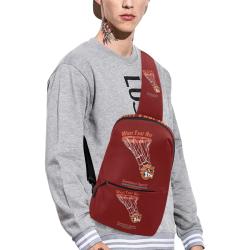Whet That Net Chest Bag Chest Bag (Model 1678)
