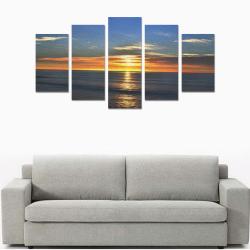 Sunrise Canvas Print Sets A (No Frame)