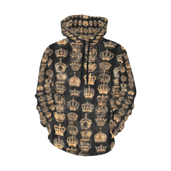 Royal Krone by Artdream All Over Print Hoodie for Women (USA Size) (Model H13)