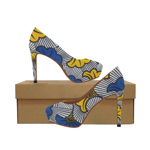 Heels Wax 5 Women's High Heels (Model 044)