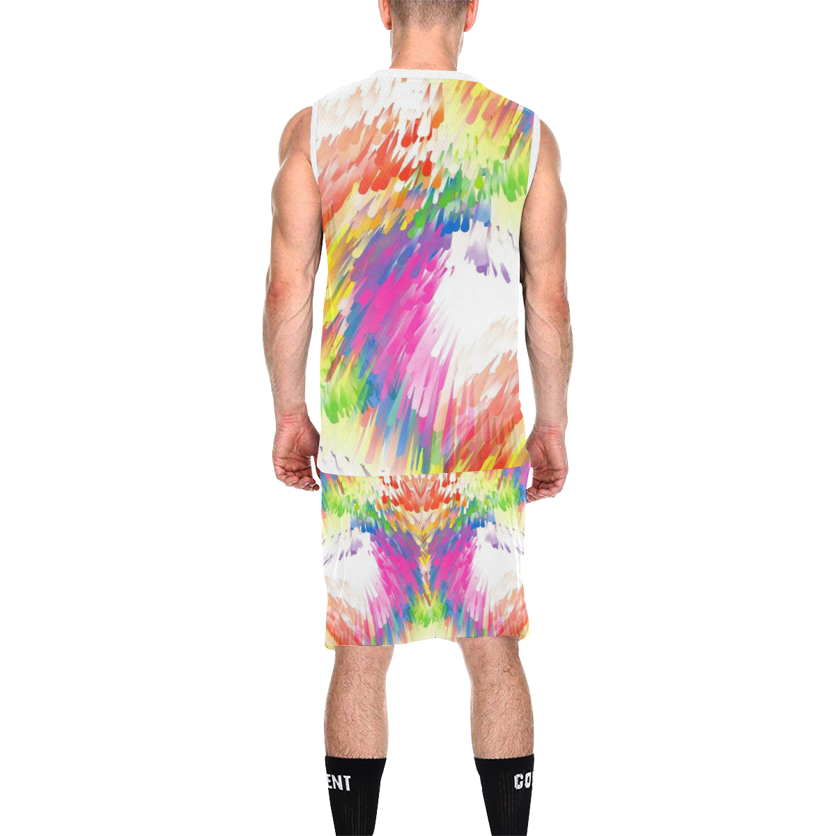 Colors by Nico Bielow All Over Print Basketball Uniform