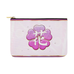 Japanese Spring Jeweled Carry-All Pouch 12.5''x8.5''