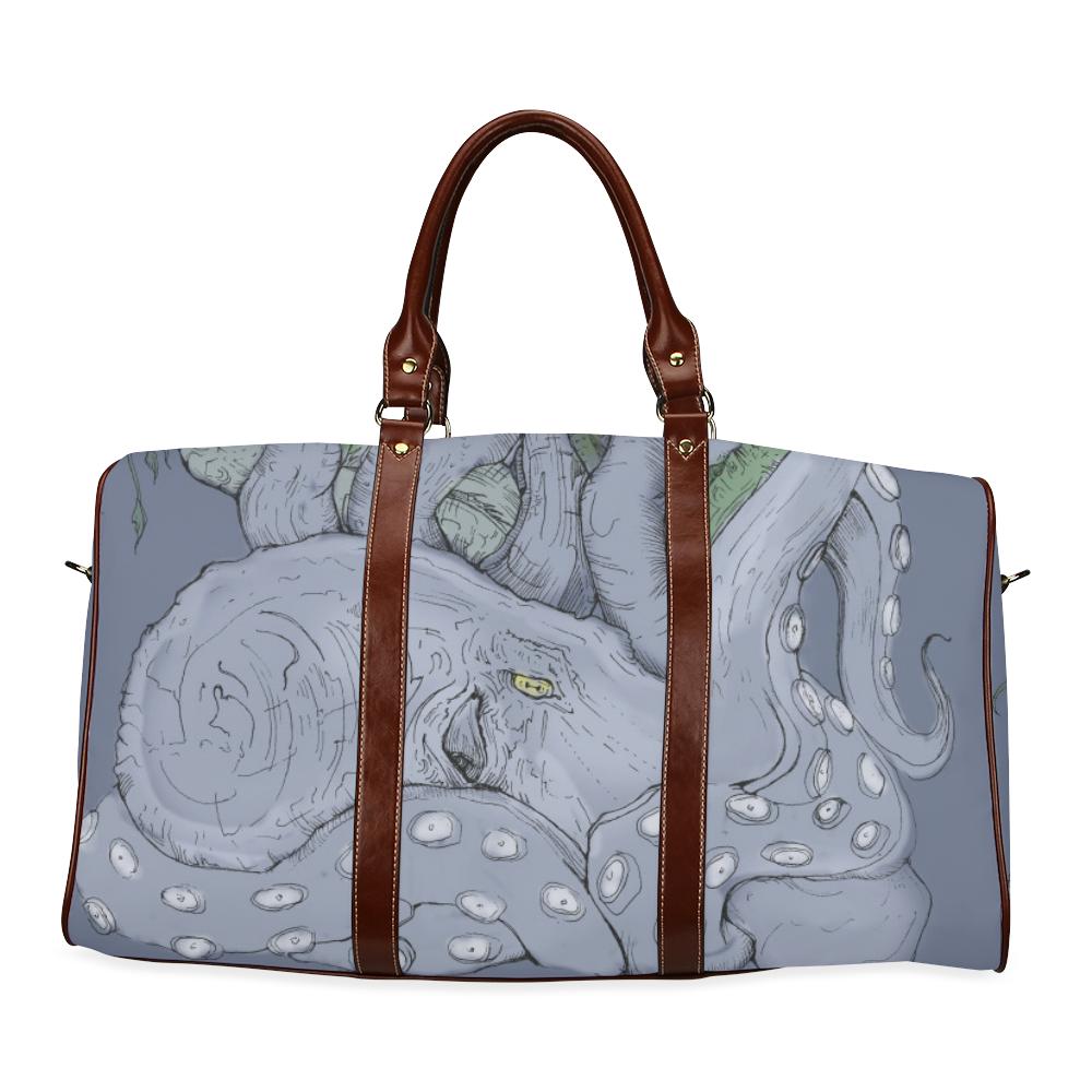 Kraken chaos Waterproof Travel Bag/Small (Model 1639)