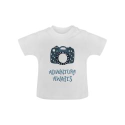Adventure Awaits 'Camera' Baby Classic T-Shirt (Model T30)