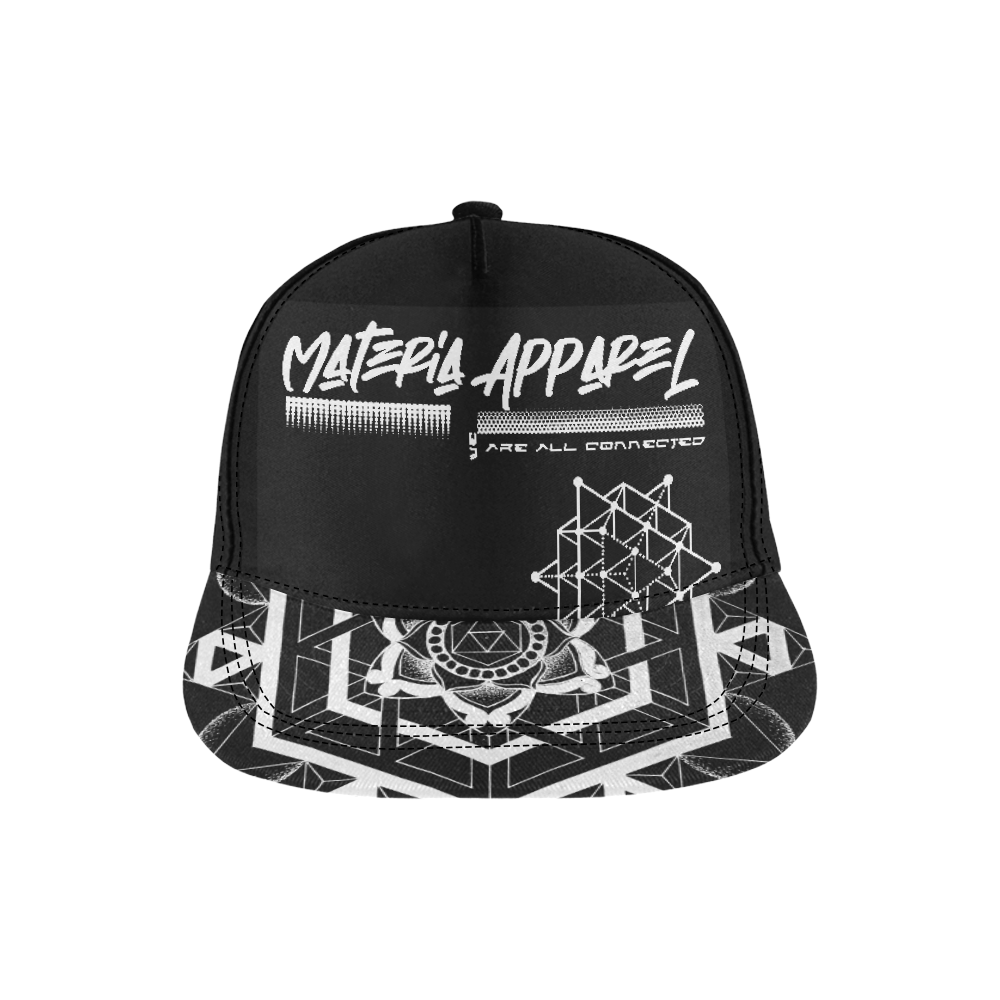 materia//perservere All Over Print Snapback Hat D