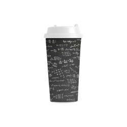 Mathematics Formulas Equations Numbers Double Wall Plastic Mug