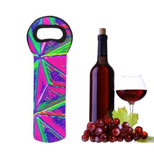 Vivid Life 1D  by JamColors Neoprene Wine Bag