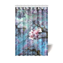 "Cherry blossomL Shower Curtain 48""x72"""