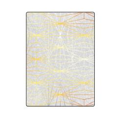 "ELEGANT SILVER GOLD DIAMONDS-1BL5 Blanket 58""x80"""