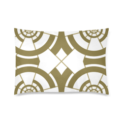 "Abstract pattern geometric backgrounds Custom Zippered Pillow Case 20""x30""(Twin Sides)"