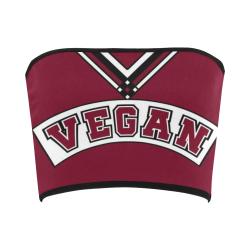 Vegan Cheerleader Bandeau Top