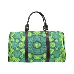 Green Theme Mandala New Waterproof Travel Bag/Large (Model 1639)