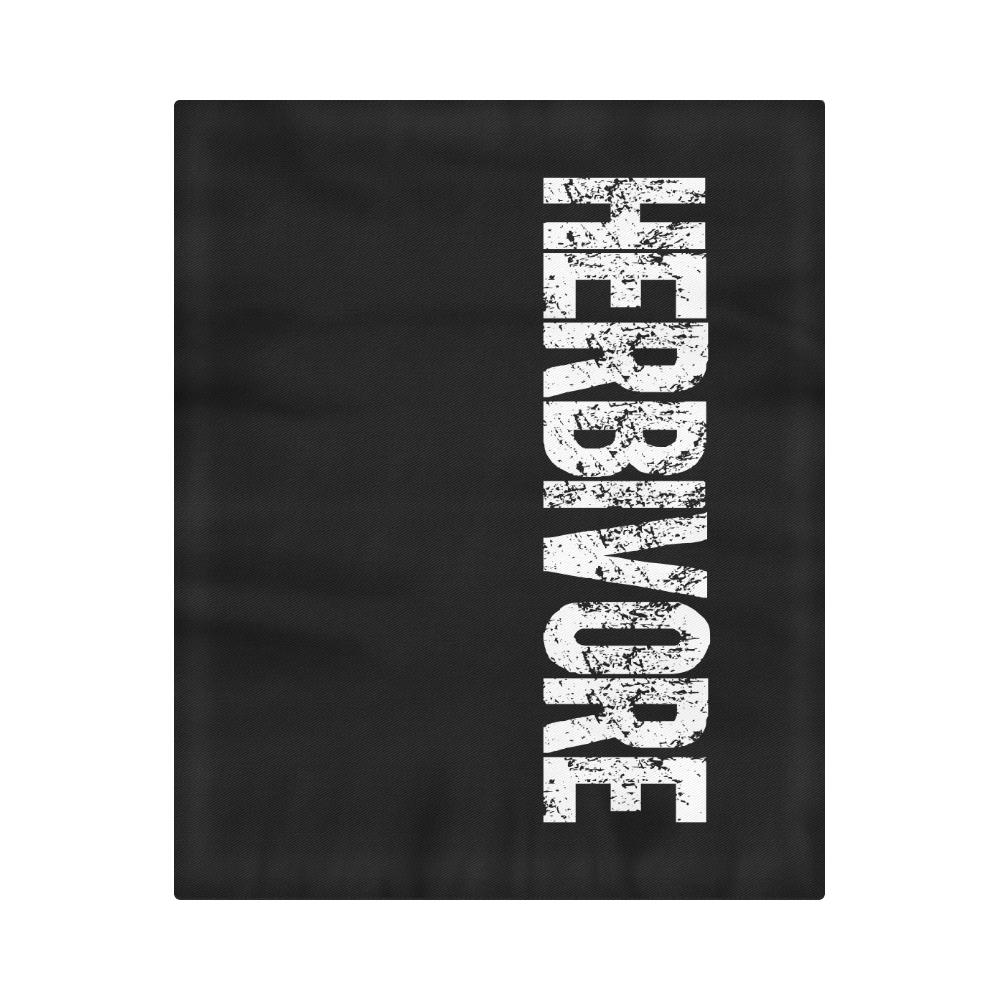 "Herbivore (vegan) Duvet Cover 86""x70"" ( All-over-print)"