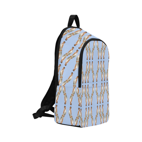 kylie pattern 1a blu Fabric Backpack for Adult (Model 1659)