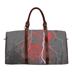 Flash Pop Art by Nico Bielow Waterproof Travel Bag/Large (Model 1639)