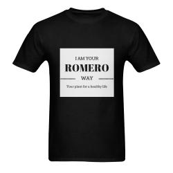CAMISETA PARA HOMBRE SOY TU ROMERO Men's T-Shirt in USA Size (Two Sides Printing)
