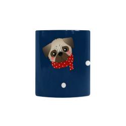 Holiday Pugs White Mug(11OZ)