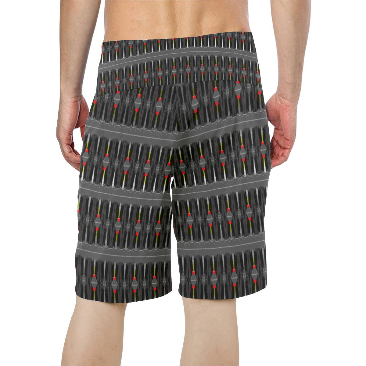 32_5000 167 Men's All Over Print Board Shorts (Model L16)