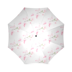 Pattern Orchidées Foldable Umbrella (Model U01)