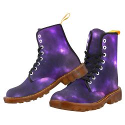 violet galaxy Martin Boots For Men Model 1203H