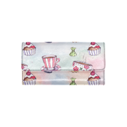 Coffee and sweeets Women's Trifold Wallet (Model 1708)