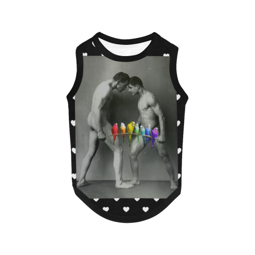 The Budgie Smugglers All Over Print Pet Tank Top