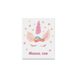 "Unicorn Magical Time Canvas Print 8""x10"""