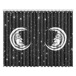 "Mystic Moon Window Curtain 52""x84""(Two Pieces)"