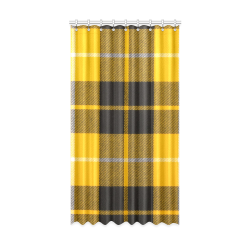 "BARCLAY DRESS LIGHT MODERN TARTAN Window Curtain 52"" x96""(One Piece)"