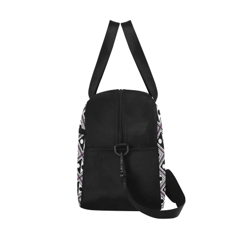 PATTERN SKULL CULT Fitness Handbag (Model 1671)