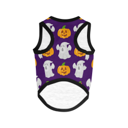 Halloween - Pumpkin and Ghost All Over Print Pet Tank Top