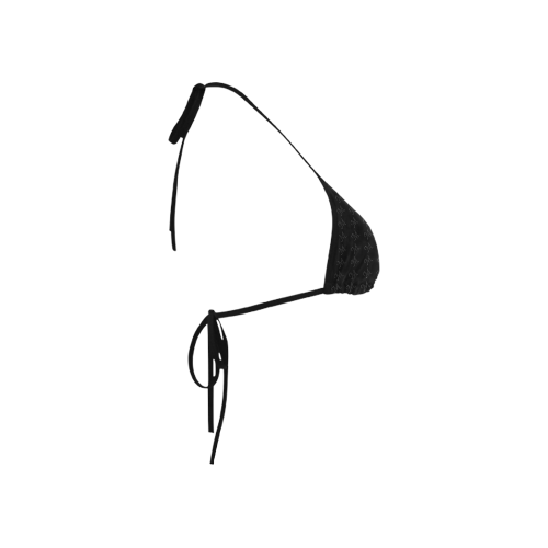 Mud-di Signature Black Custom Bikini Swimsuit Top